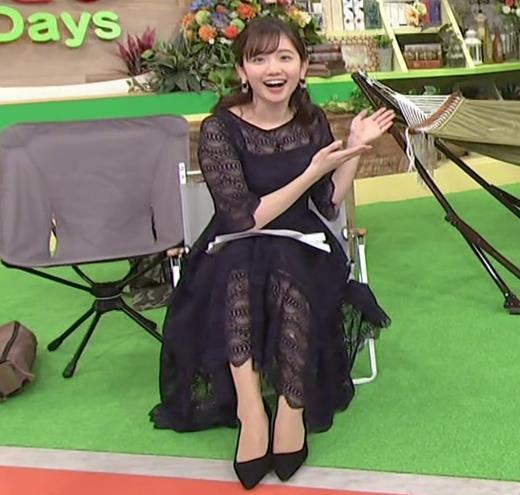田中瞳アナ かわいい横乳キャプ・エロ画像9