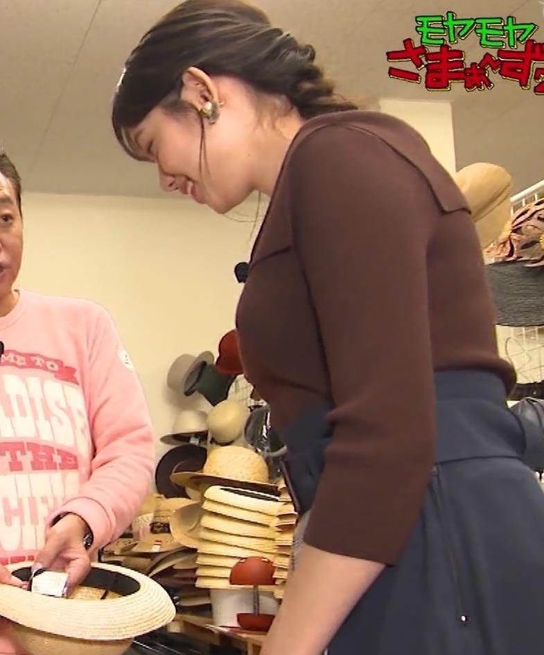田中瞳アナ かわいいのにおっぱいがデカいキャプ・エロ画像2