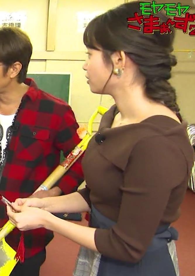田中瞳アナ かわいいのにおっぱいがデカいキャプ・エロ画像5