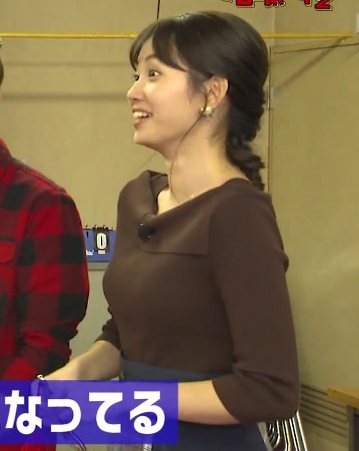 田中瞳アナ かわいいのにおっぱいがデカいキャプ・エロ画像6