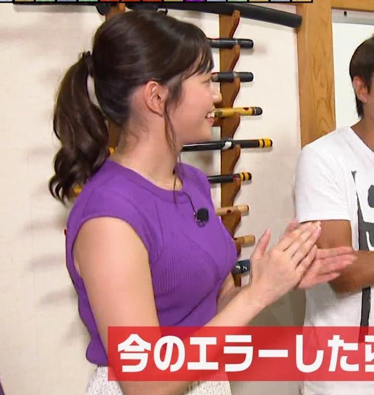 田中瞳アナ エロいノースリーブキャプ・エロ画像3