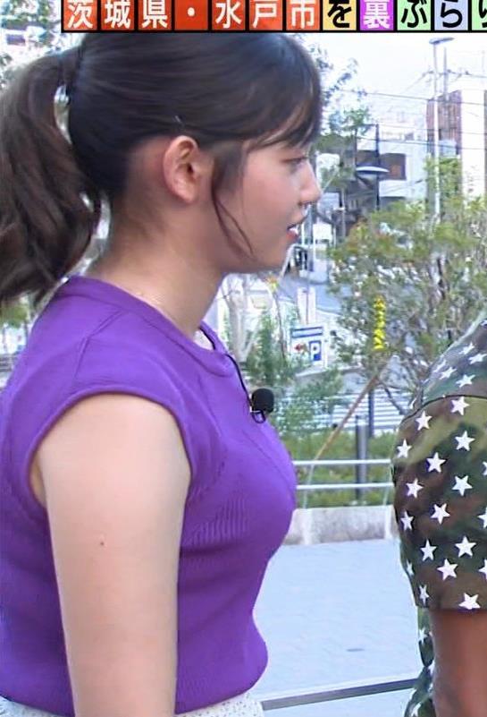 田中瞳アナ エロいノースリーブキャプ・エロ画像5