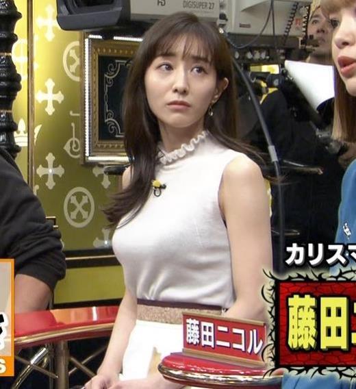田中みな実 巨乳ニットおっぱいキャプ画像(エロ・アイコラ画像)