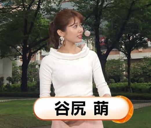 谷尻萌 エロかわいい胸のふくらみキャプ・エロ画像5
