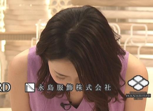 内田嶺衣奈アナ 薄着エロキャプ・エロ画像5