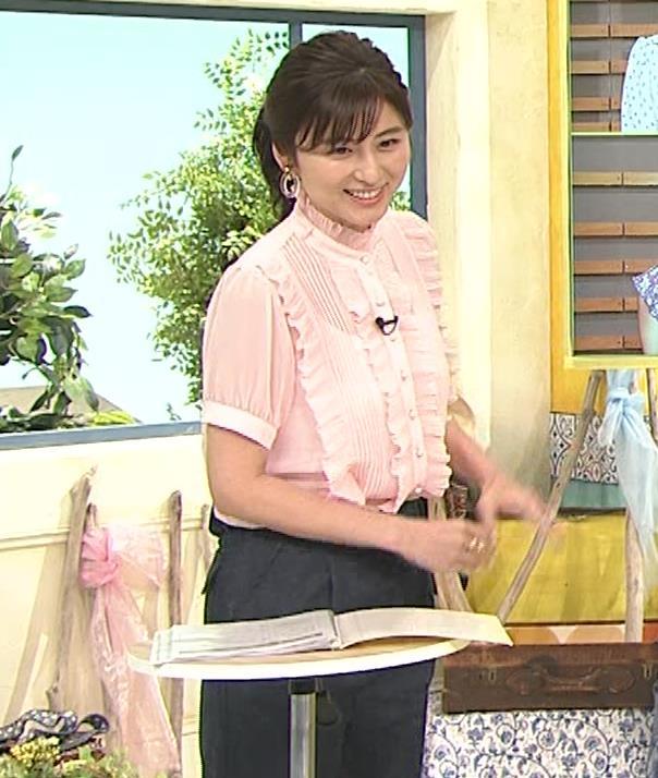 宇賀なつみ ポニーテールキャプ・エロ画像4