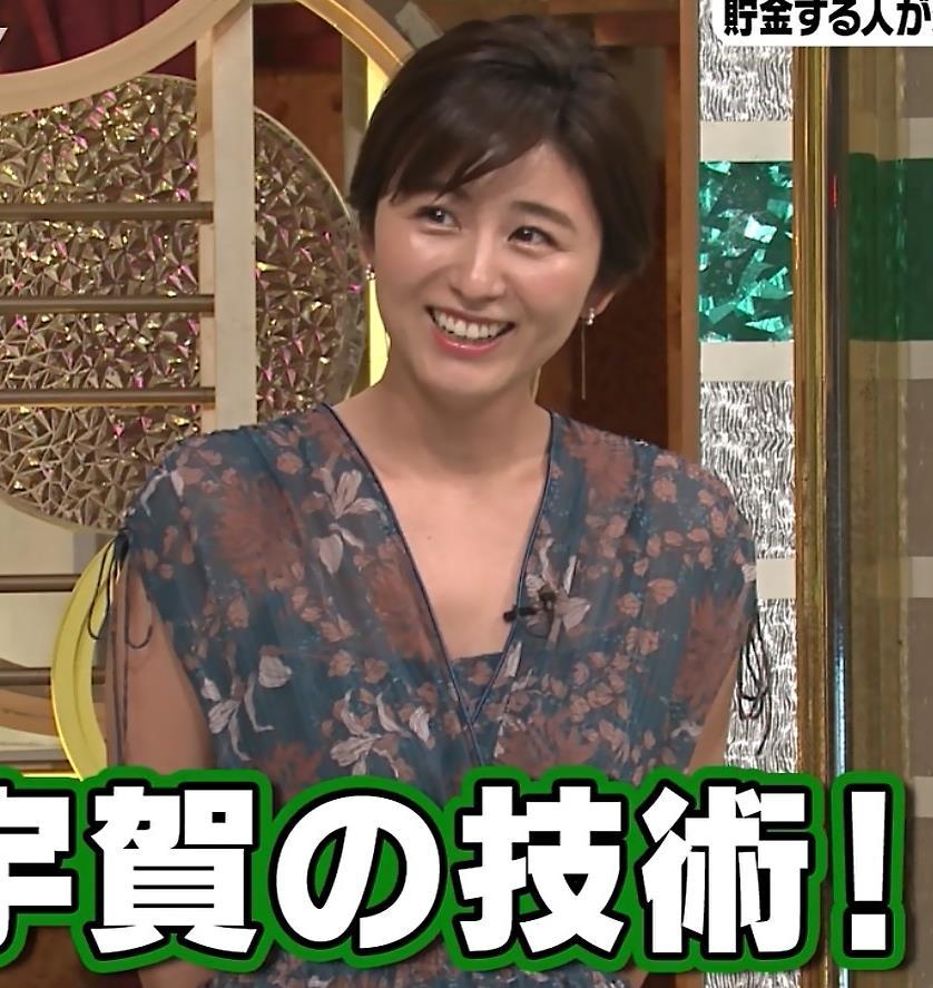 宇賀なつみ セクシーなワンピースキャプ・エロ画像4