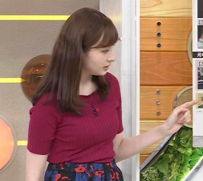 宇賀神メグ 美人アナの極上ニットおっぱいキャプ・エロ画像8