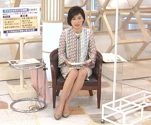 梅津弥英子アナ ミニス美脚キャプ・エロ画像