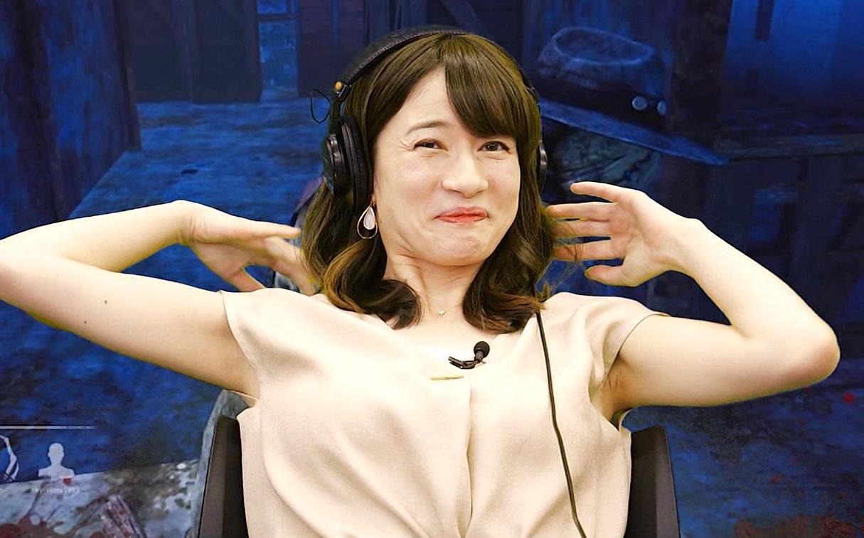 宇内梨沙アナ ワキ全開キャプ・エロ画像5