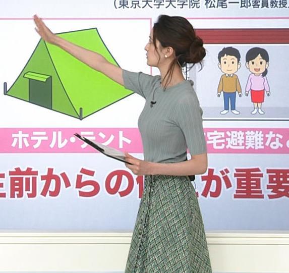 後呂有紗アナ 細身なのに胸はありそうキャプ・エロ画像3
