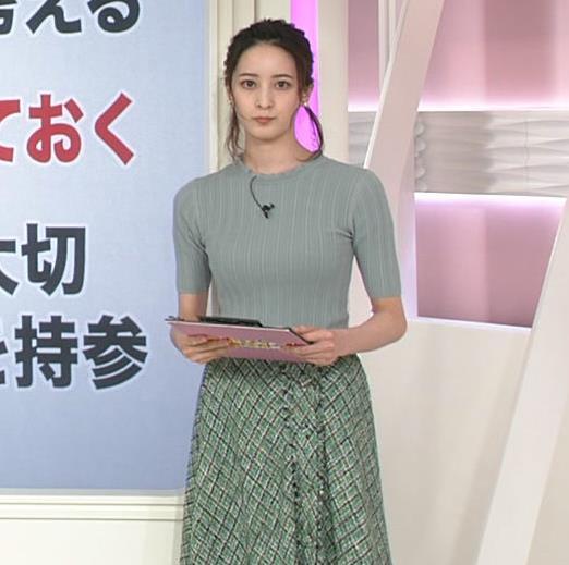 後呂有紗アナ 細身なのに胸はありそうキャプ・エロ画像5