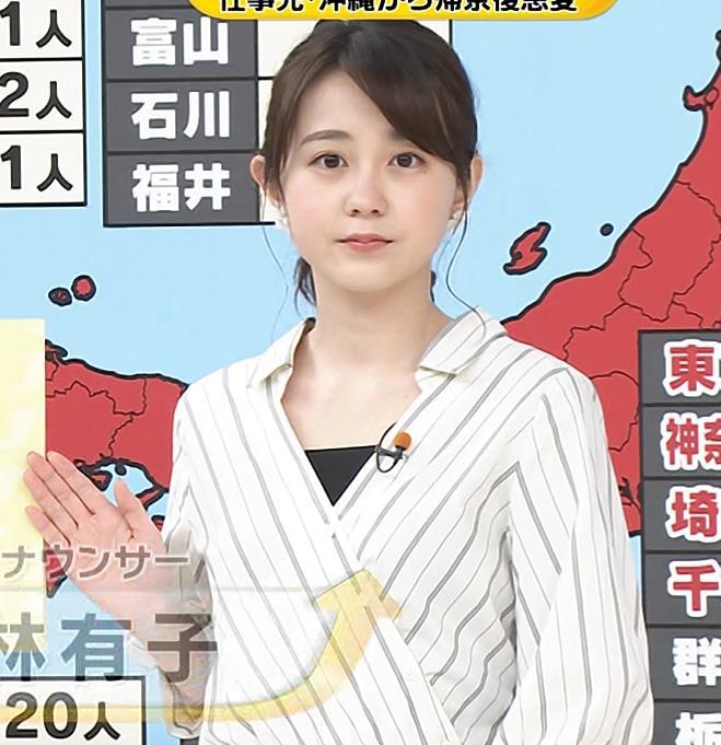 若林有子アナ 清楚でカワイイTBSアナキャプ・エロ画像3
