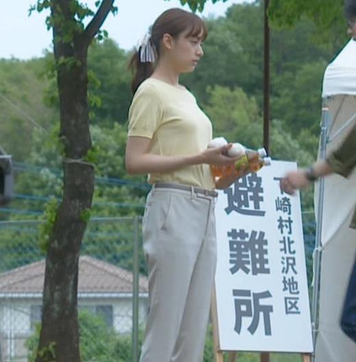 山本美月 Tシャツおっぱいキャプ画像(エロ・アイコラ画像)