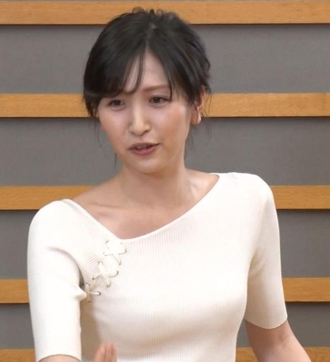横山ルリカ ニットおっぱいキャプ・エロ画像