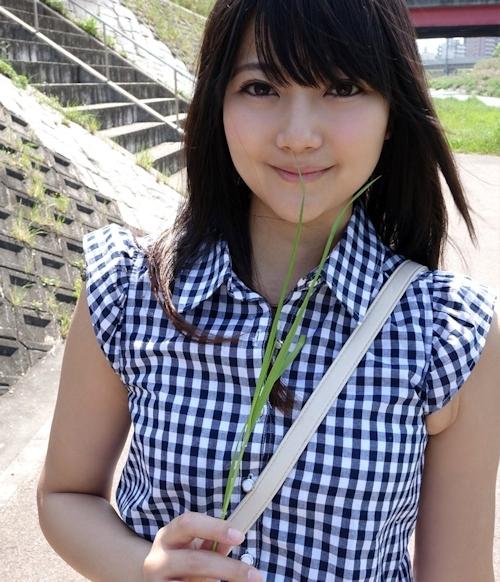 美人女子大生をホテルで撮影したヌード画像 1