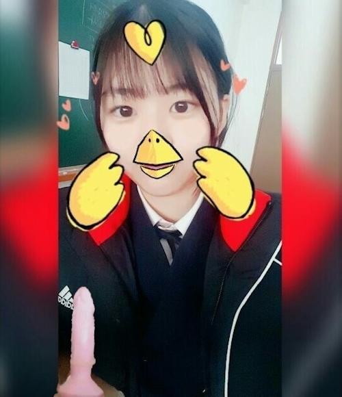 韓国素人美少女の自分撮りヌード画像 1