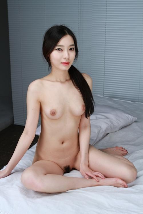 韓国美女を撮影したヌード画像 5