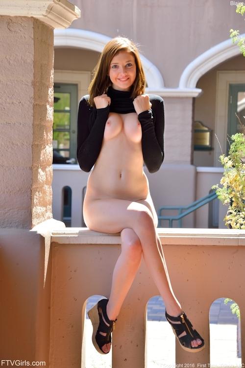 西洋の極上美女モデル Blaireのヌード画像 6
