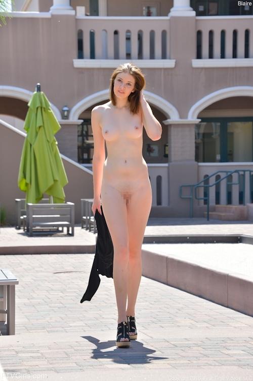 西洋の極上美女モデル Blaireのヌード画像 9
