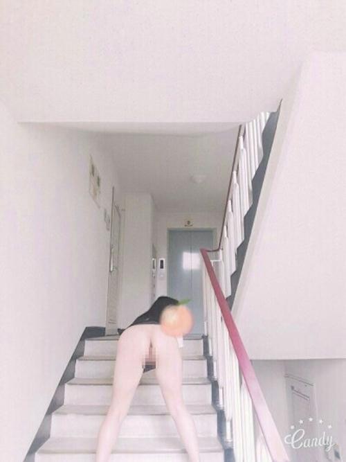 韓国巨乳美人ナースの自分撮りヌード画像? 9