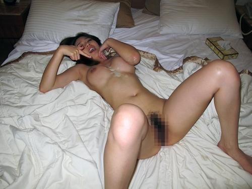 台湾の激カワ素人美少女の流出セックス画像 13
