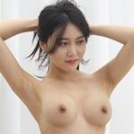 韓国美女ヌードモデルの個人撮影画像