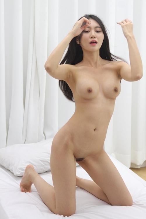 韓国美女ヌードモデルの個人撮影画像 5