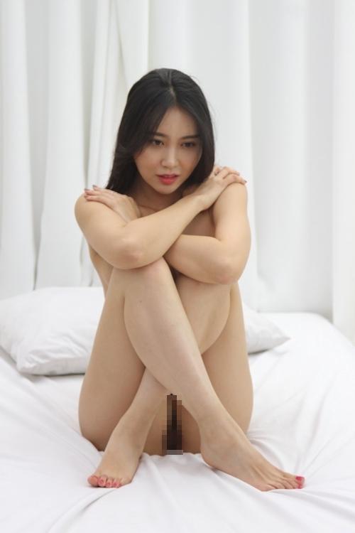 韓国美女ヌードモデルの個人撮影画像 9