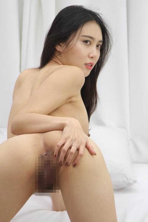 韓国美女ヌードモデルの個人撮影画像 11