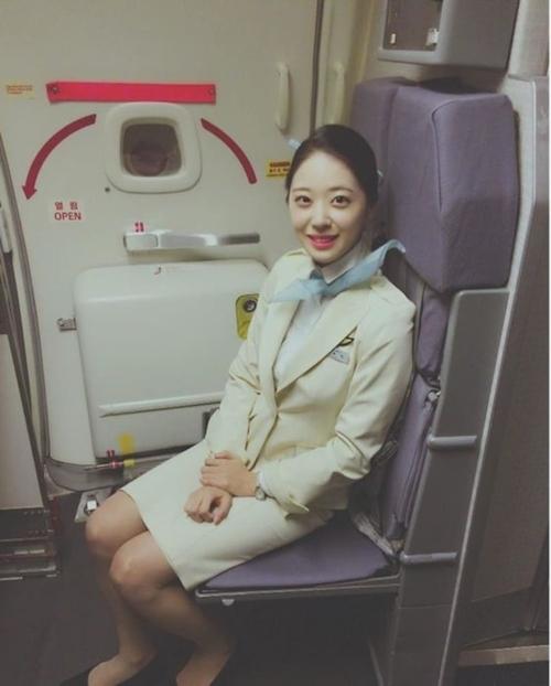 韓国美人CA(スチュワーデス)の流出ヌード画像 9