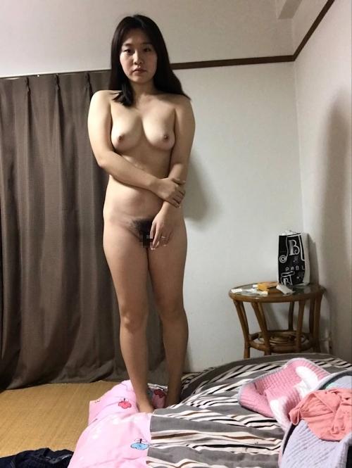 中国素人女性の自分撮りヌード画像 4