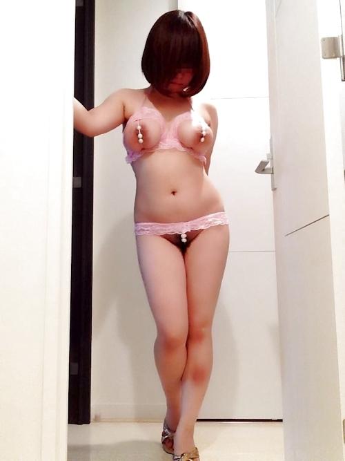 巨乳輪&ロケット巨乳おっぱいの素人美女ヌード画像 8