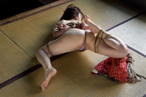 美熟女緊縛セクシー画像 6