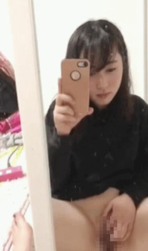清純美少女のオナニー自分撮り画像 2