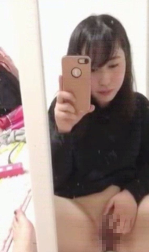 清純美少女のオナニー自分撮り画像 4