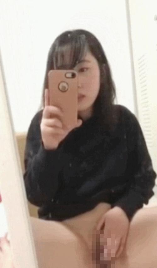清純美少女のオナニー自分撮り画像 6