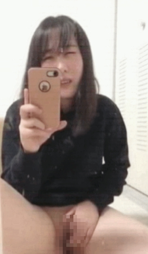 清純美少女のオナニー自分撮り画像 8