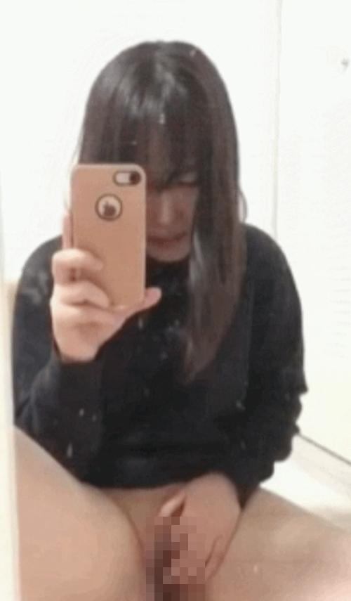 清純美少女のオナニー自分撮り画像 9