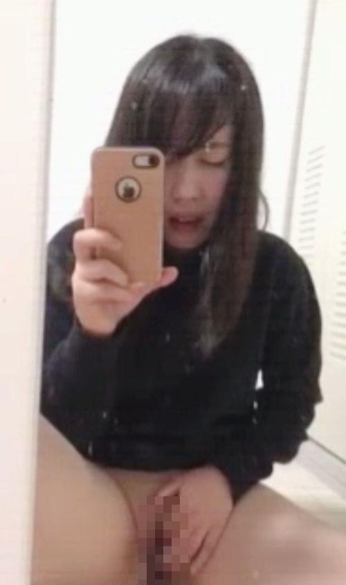 清純美少女のオナニー自分撮り画像 10
