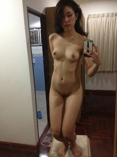 タイ美人女優の自分撮りヌード流出画像 11