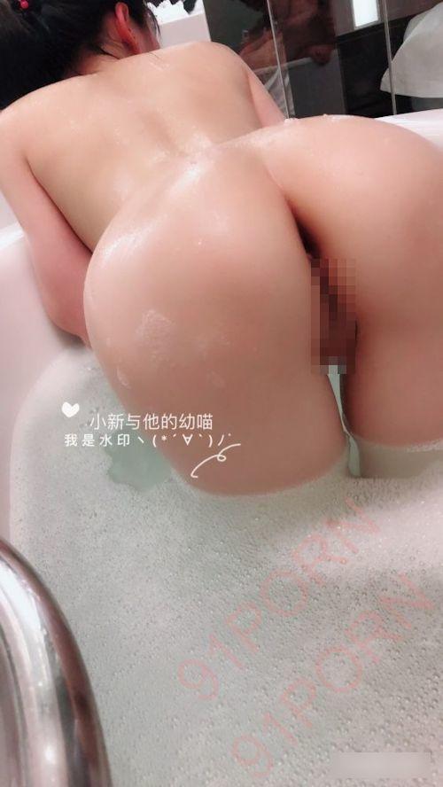 ロリ系パイパン少女の入浴ヌード画像 4