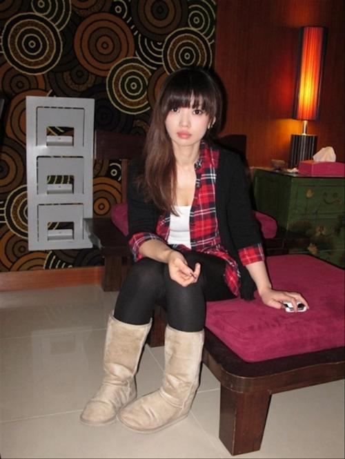 アイドル級台湾美少女の流出ヌード画像 1