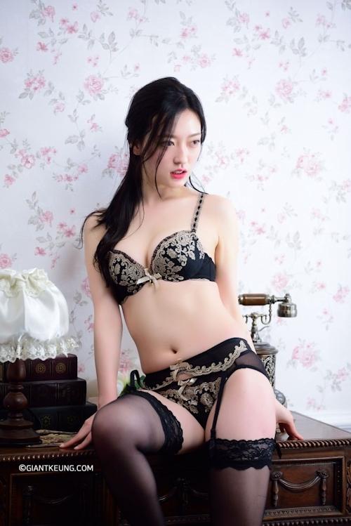 S級韓国美女モデルのセクシーランジェリー画像 2