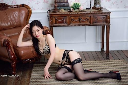 S級韓国美女モデルのセクシーランジェリー画像 7