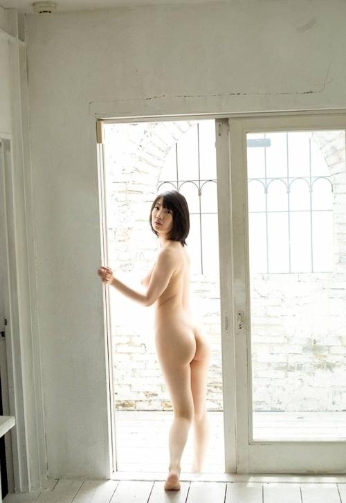 Fカップ美巨乳美女 鈴木心春 ヌード画像 4