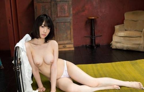 Fカップ美巨乳美女 鈴木心春 ヌード画像 5