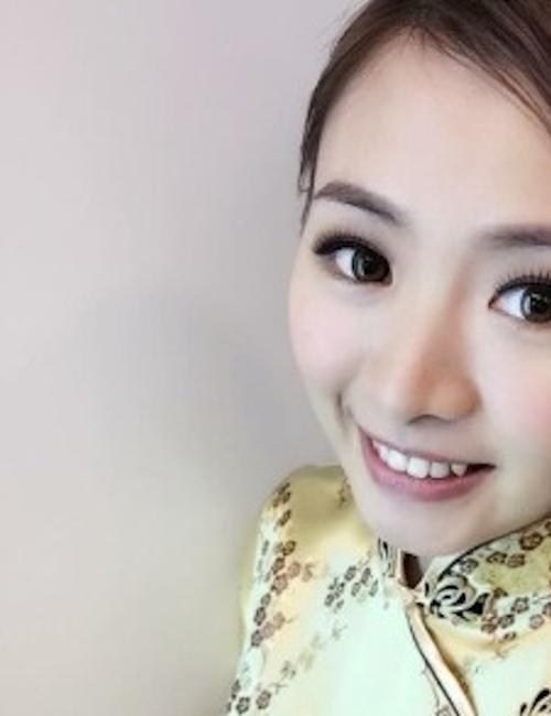 中国極品美女の自分撮りヌード画像 1