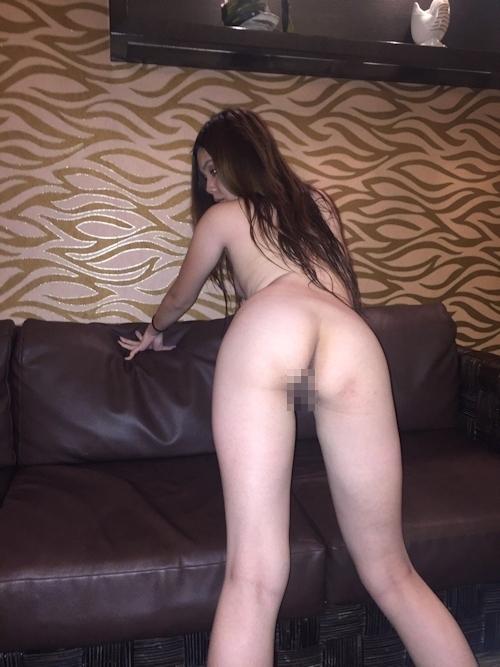 性奴隷にしてるスレンダー素人美女のヌード画像 8