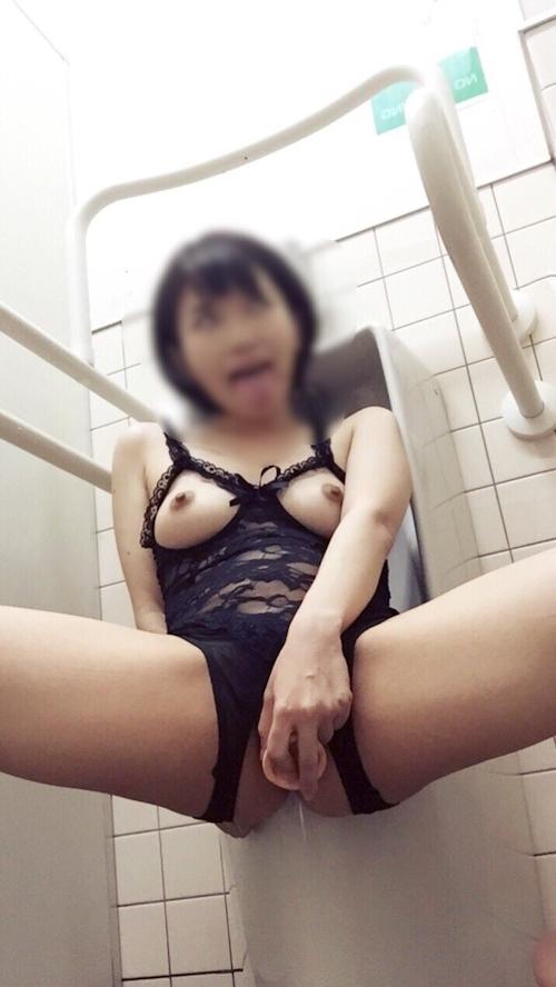 変態美少女の自分撮りヌード画像 9
